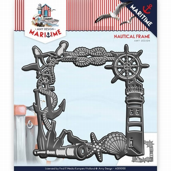 Amy Design Snijmal Maritime - Nautical Frame ADD10100  per stuk