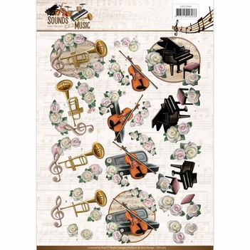 Amy Design knipvel Sounds of Music - Classic CD11063  per vel
