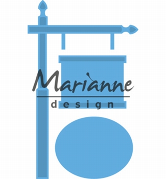 Marianne Design Creatables Sign Post LR0522  per stuk