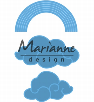 Marianne Design Creatables Rainbow & Clouds LR0531  per stuk