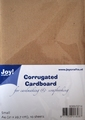 Joy! Crafts Corrugated Cardboard Ribbel kraft 8089/0214 per verpakking