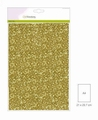 Craft Emotions Glitterpapier Goud 1290/0155 per vel