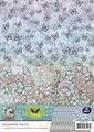 Yvonne Creations Achtergrondpapier Butterfly BGS10006 per vel
