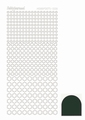 Hobbydots Sticker - Mirror - Christmas Green STDM08J per vel