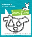 Lawn Fawn Snijmal Hang in There LF1312 per stuk