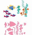 Marianne Design Collectables Eline's Tropical Fish COL1431 per stuk