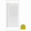 Hobbydots Sticker - Mirror - Yellow STDM20E per vel