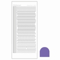 Hobbydots Sticker - Mirror - Purple STDM209 per vel