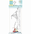Marianne Design clear stamp Hetty's Border Sailing  HT1623 per stuk