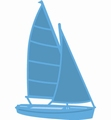 Marianne Design Creatables Sailboat LR0473 per stuk