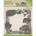 Yvonne Creations Cut Die Moving Madness - Frame YCD10097 per stuk