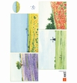 Marianne Design Knipvel Tiny's Background Landscape IT596 per vel