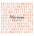 Marianne Design Design Folder ABC (Moonflower)  DF3437 per stuk
