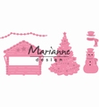 Marianne Design Collectables Village Decoration Set COL1440 per stuk