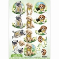 Amy Design knipvel Sweet Pets - Dogs CD10960 per vel