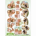 Amy Design knipvel Sweet Pets - Rodents CD10959 per vel