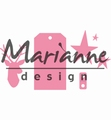 Marianne Design Collectables Gift Wrapping: Deer, TagCOL1442 per stuk