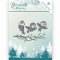 Jeanine's Art Snijmal Winter Classics - Winter Bird JAD10027 per stuk