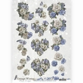 Amy Design knipvel Vintage Winter - Winter Flower CD10985 per vel