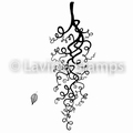 Lavinia Clear Stamp Whimsical Whisps LAV483 per stuk