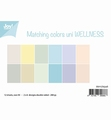 Joy! Crafts Papierset Matching Colors Wellness  6011/0546 per stuk