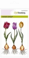 Craft Emotions Clear Stamp Tulpen 130501/1271 per stuk