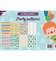 Joy! Crafts Papierset Dendennis Party Patterns 6011/0555 per stuk