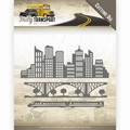 Amy Design Snijmal Daily Transport - In the City ADD10129 per stuk