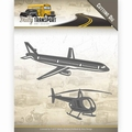 Amy Design Snijmal Daily Transport - Through theAir ADD10132 per stuk