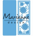 Marianne Design Creatables Anja's Flower Rectangle LR0516 per stuk