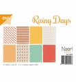 Joy! Crafts Papierset Rainy Days 6011/0565 per stuk