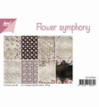 Joy! Crafts Papierset Flower Symphony 6011/0550 per stuk