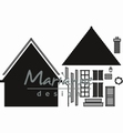 Marianne Design Craftables Build-a-House CR1437 per stuk