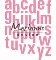 Marianne Design Collectables Alphabet XXL   COL1449 per stuk