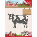 Yvonne Creations Die Country Life - Cow YCD10128 per stuk