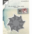 Joy Crafts Snijmal Mix & Match Stercirkel 6002/1067 per stuk