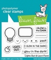 Lawn Fawn Clear Stamp Lights Out LF1631 per stuk