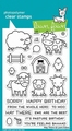 Lawn Fawn Clear Stamp Hay There LF1595 per stuk