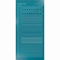 Hobbydots Sticker - Mirror - Turquoise STDM21D per vel