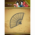 Amy Design Snijmal Oriental - Chinese Fan ADD10145 per stuk