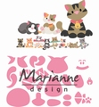 Marianne Design Collectables Eline's Kitten COL1454 per stuk