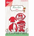 Joy Crafts Snijmal Mon Ami Elf 6002/1078 per stuk