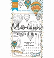 Marianne Design clear stamp Hetty's Sky is the Limit HT1634 per stuk