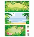 Marianne Design Knipvel Eline's Tropical Background AK0070 per vel