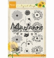 Marianne Design clear stamp Tiny's Layered Sunflower TC0865 per stuk