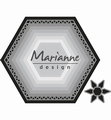 Marianne Design Craftables Basic set: Hexagon CR1444 per stuk