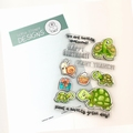 Gerda Steiner Clear Stamp Turtley Great! GSD643 per stuk