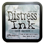Distress ink GROOT Iced Spruce 32878 per stuk