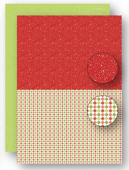 Nellie Snellen Achtergrondvel Red Dots NEVA065*