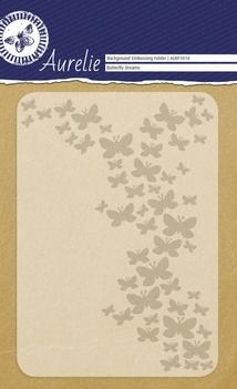 Aurelie Embossingfolder Butterfly Dreams AUEF1014  per stuk